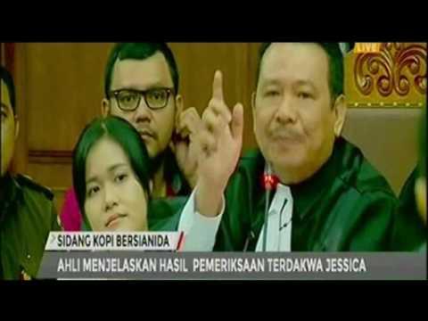 Sidang Jessica 1 September 2016 - Tanyai saksi Ahli Pengacara Jessica Penuh EMOSI!