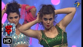 Aqsa Khan Performance | Dhee 10 |  1st November 2017| ETV Telugu