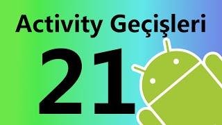 android activity geçişleri ve explicit intent
