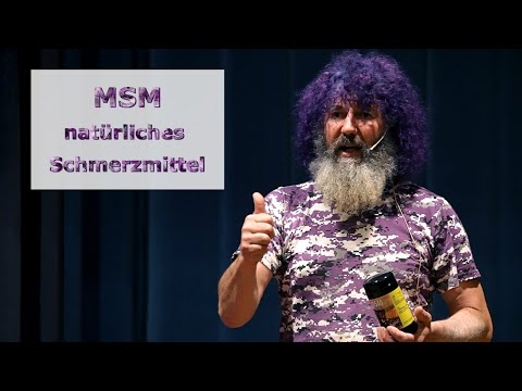 Robert Franz Vorträge: MSM als natürliches Schmerzmittel: die Wirkung von organischem Schwefel