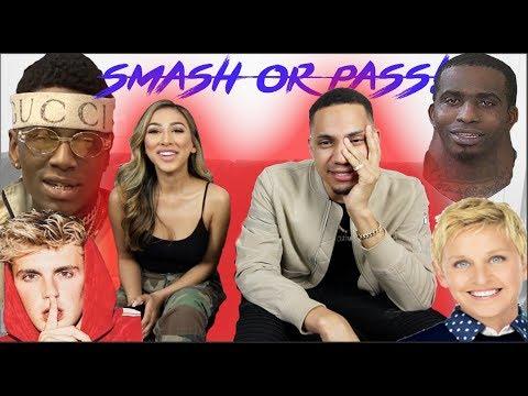 SMASH OR PASS CHALLENGE! (SOULJA BOY, DRAKE, JAKE PAUL, WIDENECK, ELLEN & MORE!)