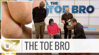 """The Toe Bro"" Reveals His Secret to Treat Dry Feet and Cracked Heels"
