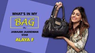 What's In My Bag With Alaya F | Jawaani Janemaan | Fashion | Makeup Choices | Koimoi