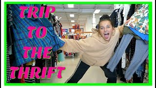 ★ TRIP TO THE THRIFT! 30 MINUTES OF THRIFTING!  ★