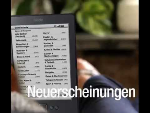 Black Friday 2011 - Kindle eReader deutsches Menü