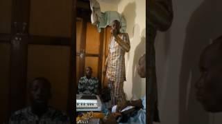 Zikiri champion en plein répétions depuis congo Brazzaville