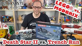 LEGO® vs. Modbrix - Death Star II Battle vs. Trench Run 40407 - 6918 ... ein Vergleich(sversuch)