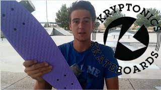 Kryptonics Torpedo Penny Board Review