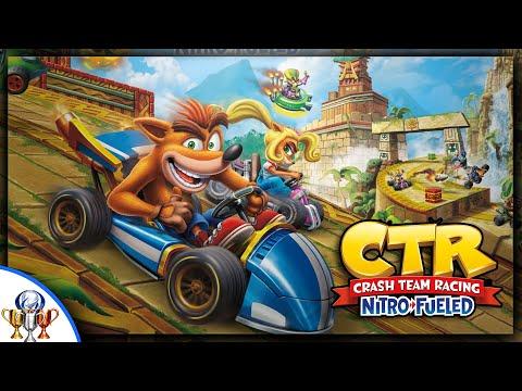 The Gaming Restoration: Crash Team Racing Running at 4K