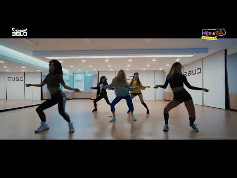 "[MIRROR-SLOW] Hyuna ""Lip & Hip"" Dance Practice (0.4x) 60%"