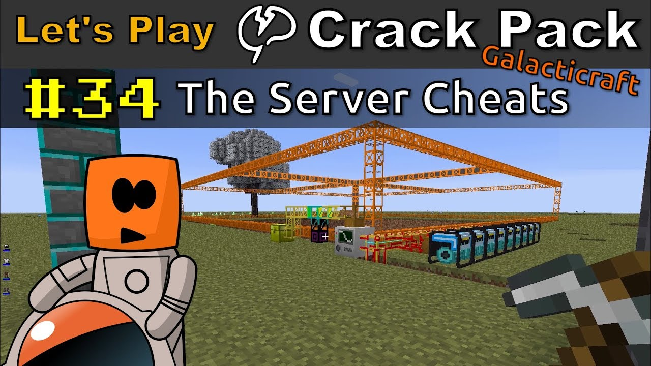 Minecraft - CrackPack #34 | The Server Cheats