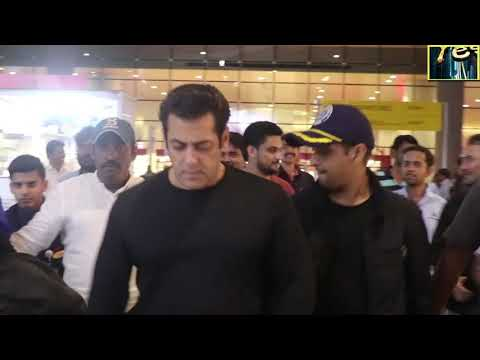 salman khan spotted airport Bollywood News