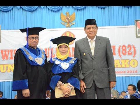 Dok Humas Untad, Wisuda ke 82 Lulusan Universitas Tadulako Disk 1