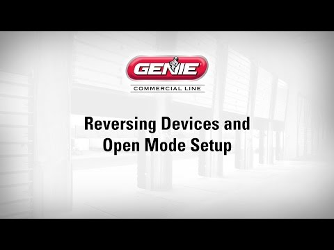 Reversing Device and Open Mode Setup