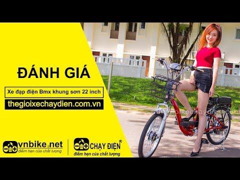 Xe đạp điện Bmx khung sơn 22 inch