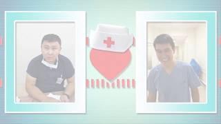 С праздником Вас реаниматологи городского кардиологического центра г Алматы