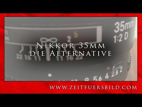 Die besten alten Nikon Objektive - das Nikkor 35mm f2