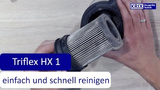 Miele Triflex HX1 einfach und schnell reinigen   Akkustaubsauger Reinigung