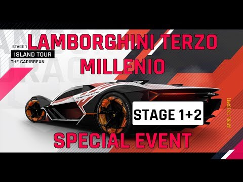 Tahap 1 + 2 Lamborghini Panduan Acara Spesial Terzo Millenio