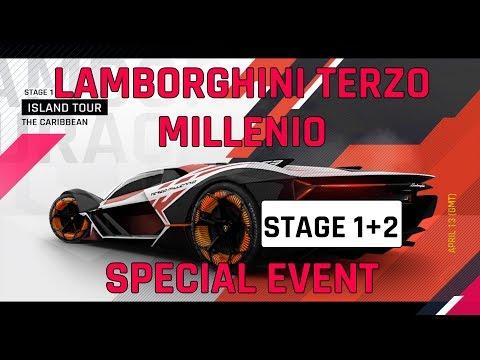 Estágio 1 + 2 Lamborghini Guia do Evento Especial Terzo Millenio