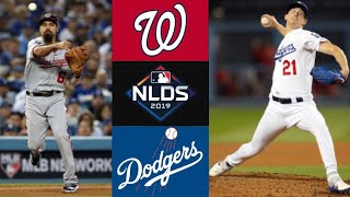 Nationals vs Dodgers NLDS Game 1 Highlights