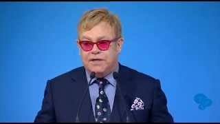 YES2015. Sir Elton John talks about tolerance and human rights