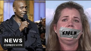 How Dave Chappelle Schooled White Woman On 'Police Brutality' - CH News