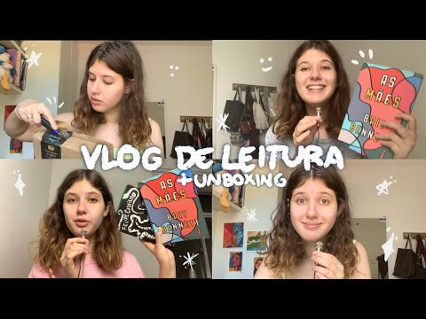 unboxing black friday + leituras (+800pg) | vlog de leitura #2