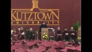 Mom's Kutztown Graduation Spring 2012
