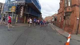 preview picture of video 'Chester Marathon 2014 just after 1 Mile'