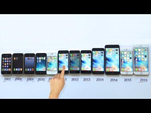 ALL iPhones Compared! iPhone 6S+ vs 6S vs 6 Plus vs 6 vs 5s vs 5c vs 5 vs 4s vs 4 vs 3Gs...