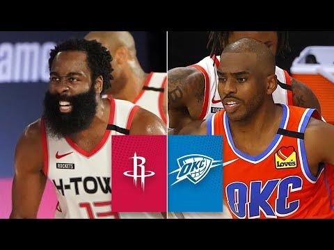 Houston Rockets vs. Oklahoma City Thunder [GAME 3 HIGHLIGHTS] | 2020 NBA Playoffs
