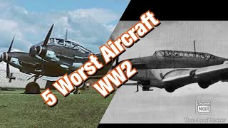 5 Of The Worst Military Aircraft Used In WW2