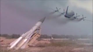 Scenario || Russian Military Aircraft Ilyushin IL-20 Hit By S-200 Missile.