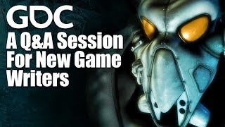 GDC 2016: Ask a Game Writer Anything