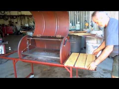 Πως να φτιάξετε ψησταριά από παλιό βαρέλι