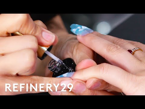 BLACKPINK'S Nail Artist Gave Me 2 Inch Jelly Nails | With Mi | Refinery29