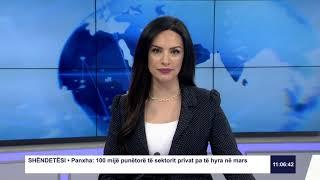 RTK3 Lajmet e orës 11:00 27.03.2020