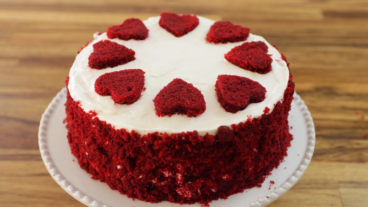 Super Red Velvet Cake Recipe The Cooking Foodie Funny Birthday Cards Online Kookostrdamsfinfo