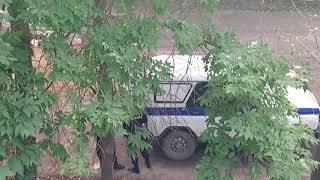 Пьяный велосипедист и полиция. Часть 3