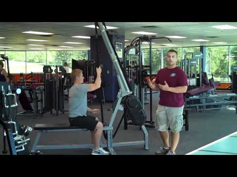 Rope Machine Seated Vertical Pull