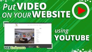 Embedding YouTube Videos on YOUR Website - How to ADD Video To Your Site