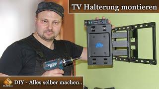 TV Wandhalterung montieren - Anleitung