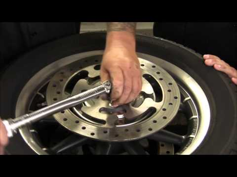 Centramatic Stainless Wheel Balancers for FLH and Softail 2000-Newer Video