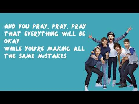 Same Mistakes - One Direction (Lyrics)