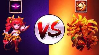 Lavanica VS Accuracy Skull Knight | CASTLE CLASH - Most