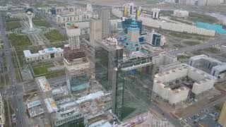 Abu Dhabi Plaza in Astana, October 2017
