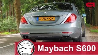 Mercedes-Maybach S600 (0-250km/h) Acceleration