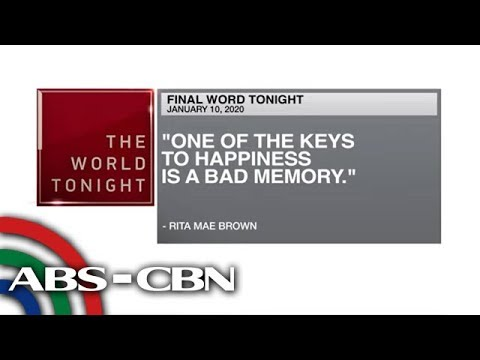 [ABS-CBN]  Final Word – January 10, 2020 | ANC