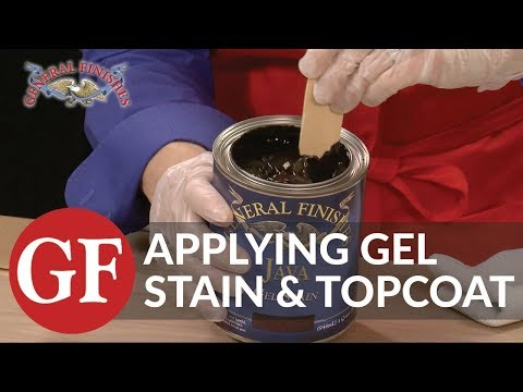 How to Apply Gel Stain and Gel